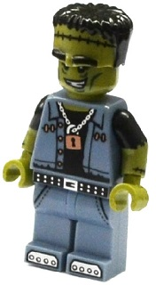 LEGO col222 Monster Rocker - Minifigure only Entry