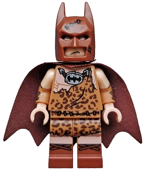 LEGO coltlbm04 Clan of the Cave Batman - Minifigure Only Entry