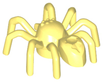 LEGO 29111 Bright Light Yellow Spider with Elongated Abdomen