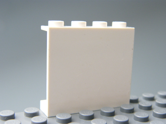 LEGO 60581 - White Panel 1 x 4 x 3 with Side Supports
