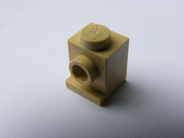 LEGO 4070 Tan Brick, Modified 1 x 1