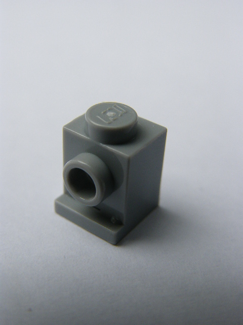 LEGO 4070 Light Bluish Gray Brick, Modified 1 x 1