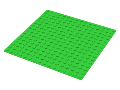 LEGO 3867 - Bright Green Baseplate 16 x 16