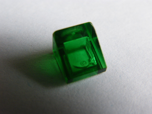 LEGO 54200 Trans-Green Slope 30 1 x 1 x 2/3