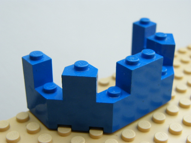 LEGO 6066 - Blue Castle Turret Top 4 x 8 x 2 1/3