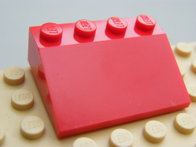 LEGO 3297 - Red Slope 33 3 x 4