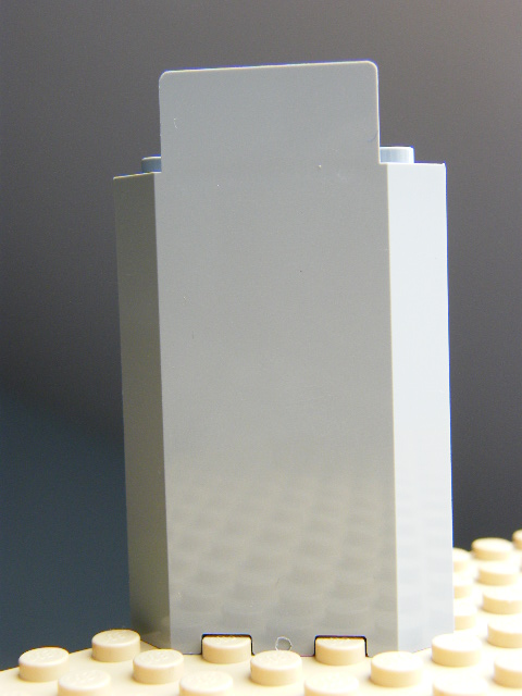 LEGO 87421 Light Bluish Gray Panel 3 x 3 x 6 Corner Wall without Bottom Indentations