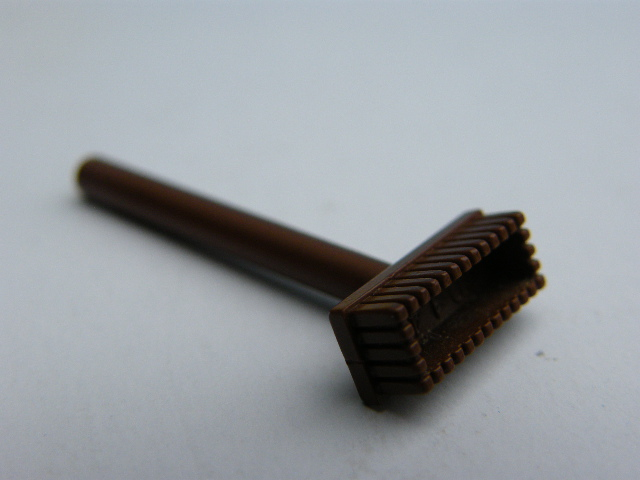LEGO 3836  Minifigure, Utensil Push Broom