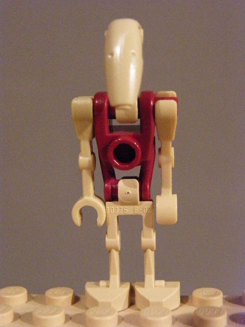 LEGO STAR WARS Battle Droid Security