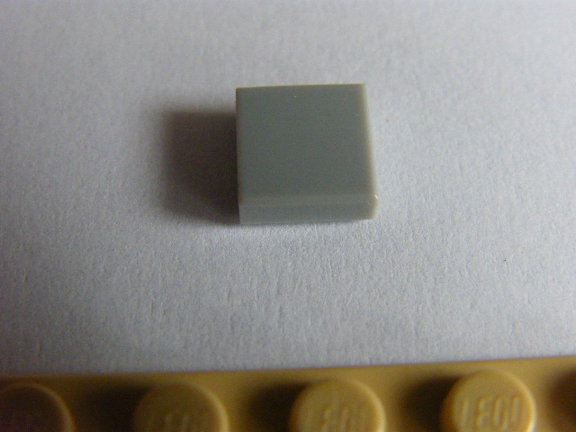 LEGO 3070 Light Bluish Gray Tile 1 x 1