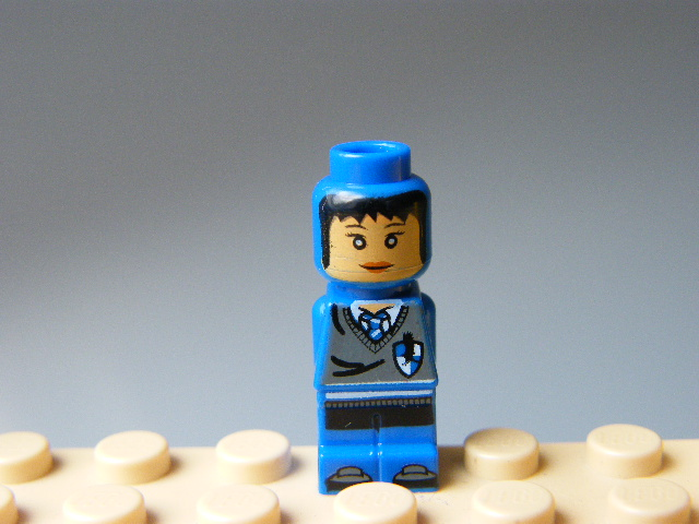 LEGO 85863pb041 Microfigure Hogwarts Ravenclaw House Player