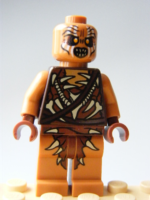 LEGO Hobbit and Lord of the Rings - Gundabad Orc - Bald