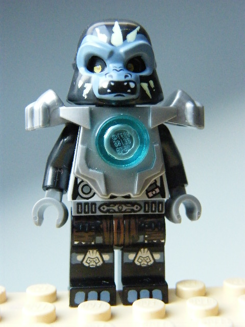 LEGO Legends of Chima - Gorzan - Flat Silver Heavy Armor