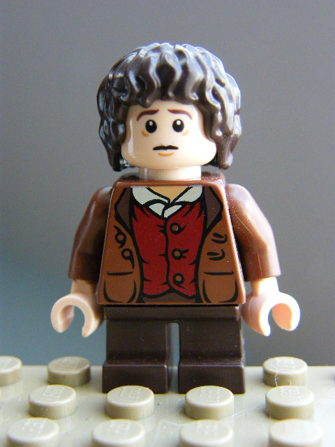 LEGO Hobbit and Lord of the Rings - lor062 Frodo Baggins - No Cape
