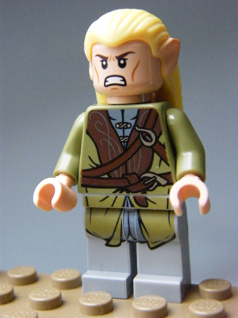 LEGO Hobbit and Lord of the Rings 015 - Legolas