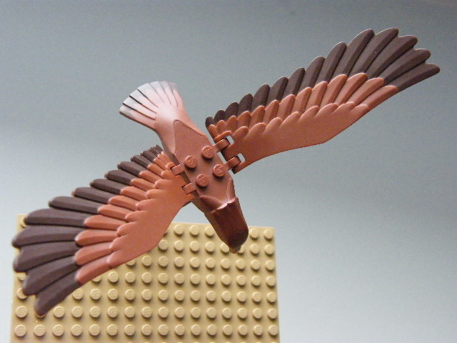 LEGO 11435pb02c01 - Hobbit, Reddish Brown Eagle