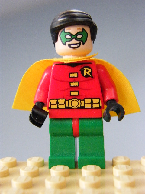 LEGO SUPER HEROES - Robin - Very Short Cape