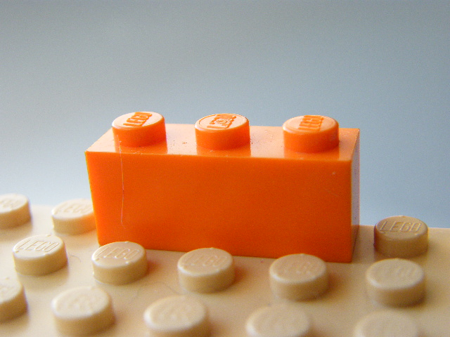 LEGO 3622 - Orange Brick 1 x 3