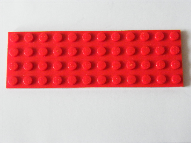 LEGO 3029 - Red Plate 4 x 12