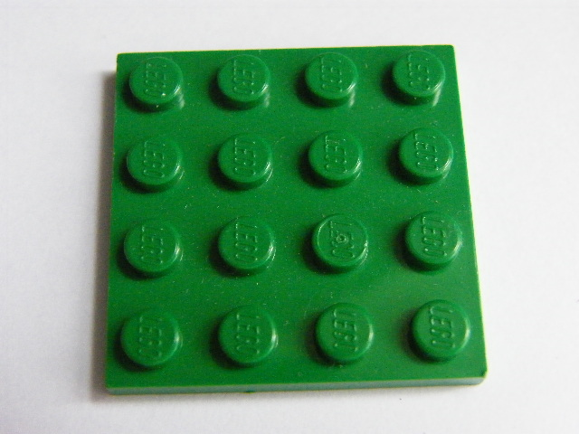LEGO 3031 - Green Plate 4 x 4