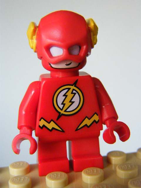 LEGO SUPER HEROES 246 - The Flash - Short Legs