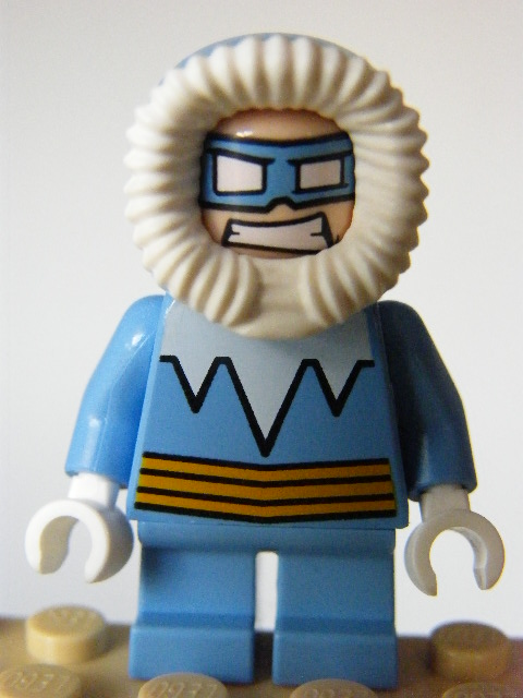 LEGO SUPER HEROES 247 - Captain Cold - Short Legs