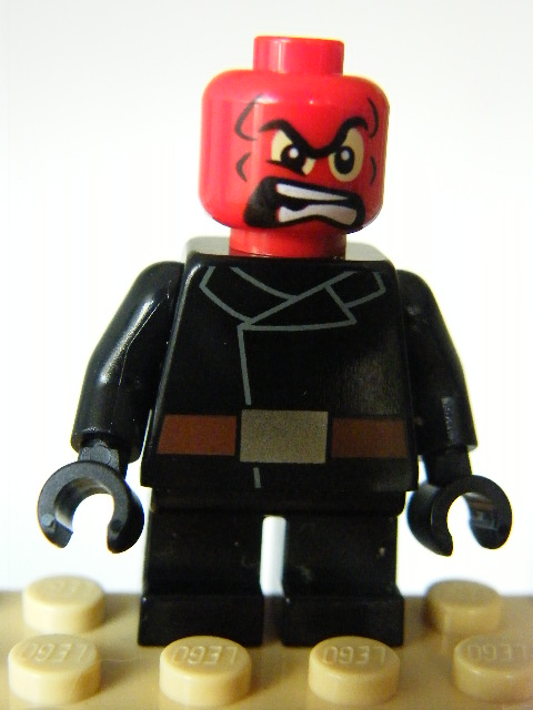 LEGO SUPER HEROES 251 - Red Skull - Short Legs