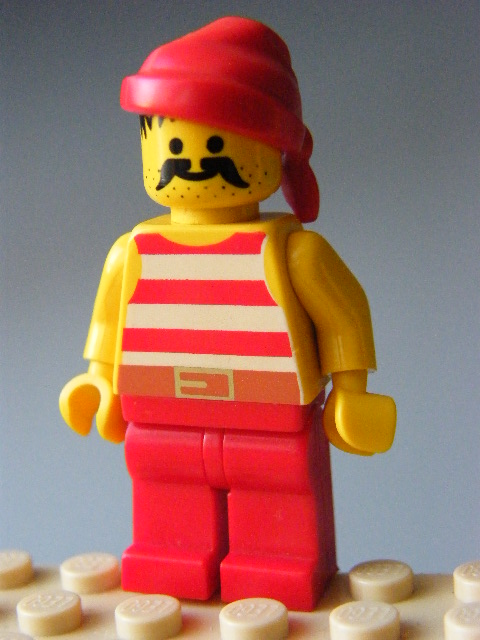 LEGO - Pirate Red