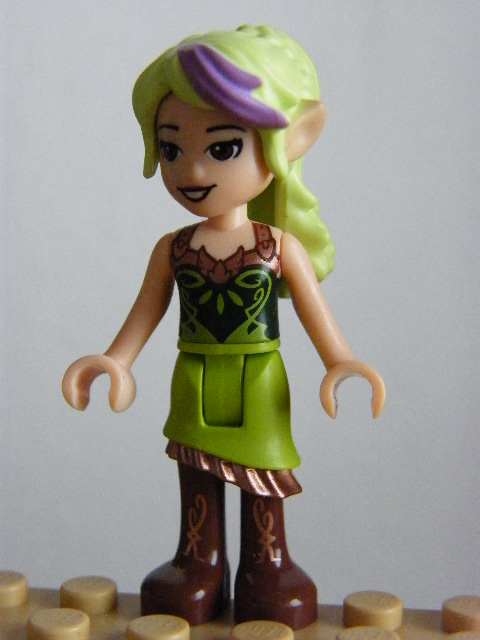 LEGO ELVES elf017 - Sira Copperbranch Sky Captain