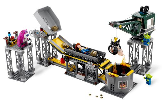 LEGO SET 7596 - Trash Compactor Escape