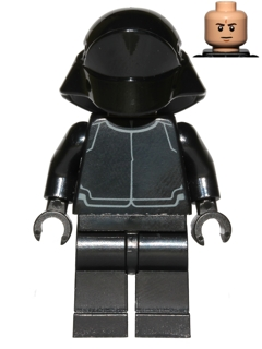 LEGO STAR WARS 671 - First Order Crew Member (Light Flesh Head)