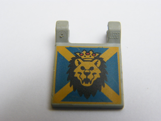 LEGO 2335px10 - Flag 2 x 2 Square with Lion Head