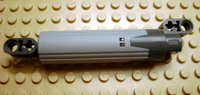 LEGO 61927c01 - Technic Linear Actuator with Dark Bluish Gray Ends