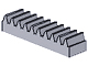 LEGO 3743 - Light Gray Technic, Gear Rack 1 x 4