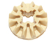 LEGO 6589 - Tan Technic, Gear 12 Tooth Bevel