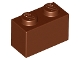 LEGO 3004 - Reddish Brown Brick 1 x 2