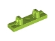 LEGO 44822 - Lime Hinge Tile 1 x 4 Locking Dual 1 Fingers on Top