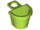 LEGO 4523 - Lime Minifig, Container D-Basket
