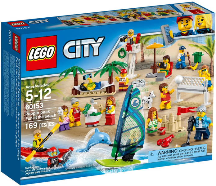 lego 60153 - People pack - Fun at the beach