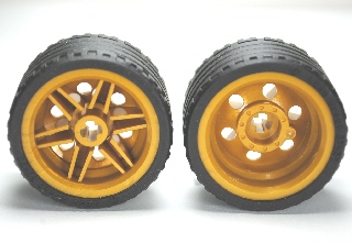 LEGO 56145c03 - Wheel 30.4mm D. x 20mm with No Pin Holes