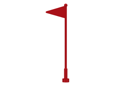 LEGO 30322 - Red Antenna Whip with Flag