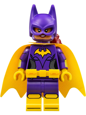 LEGO sh305 - Batgirl, Yellow Cape