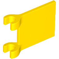 LEGO 2335 - Yellow Flag 2 x 2 Square