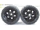 LEGO 56145c03 - black Wheel 30.4mm D. x 20mm