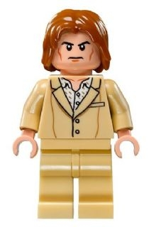 LEGO sh222 - Lex Luthor - Tan Suit (76046)