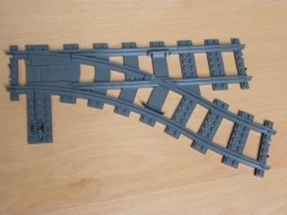 LEGO 53404 Train, Track Plastic (RC Trains) Switch Point Right