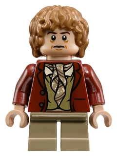 LEGO lor030 - Bilbo Baggins - Dark Red Coat