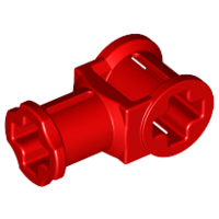 LEGO 32039 - Red Technic, Axle Connector with Axle Hole