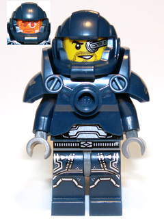 LEGO col104 - Galaxy Patrol - Minifig only Entry