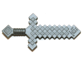 LEGO 18787 -  Flat Silver Weapon Sword